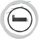 Shimano MTB Optislick Schaltzug-Set weiß